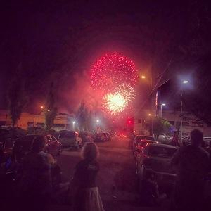 McPherson Town fireworks show