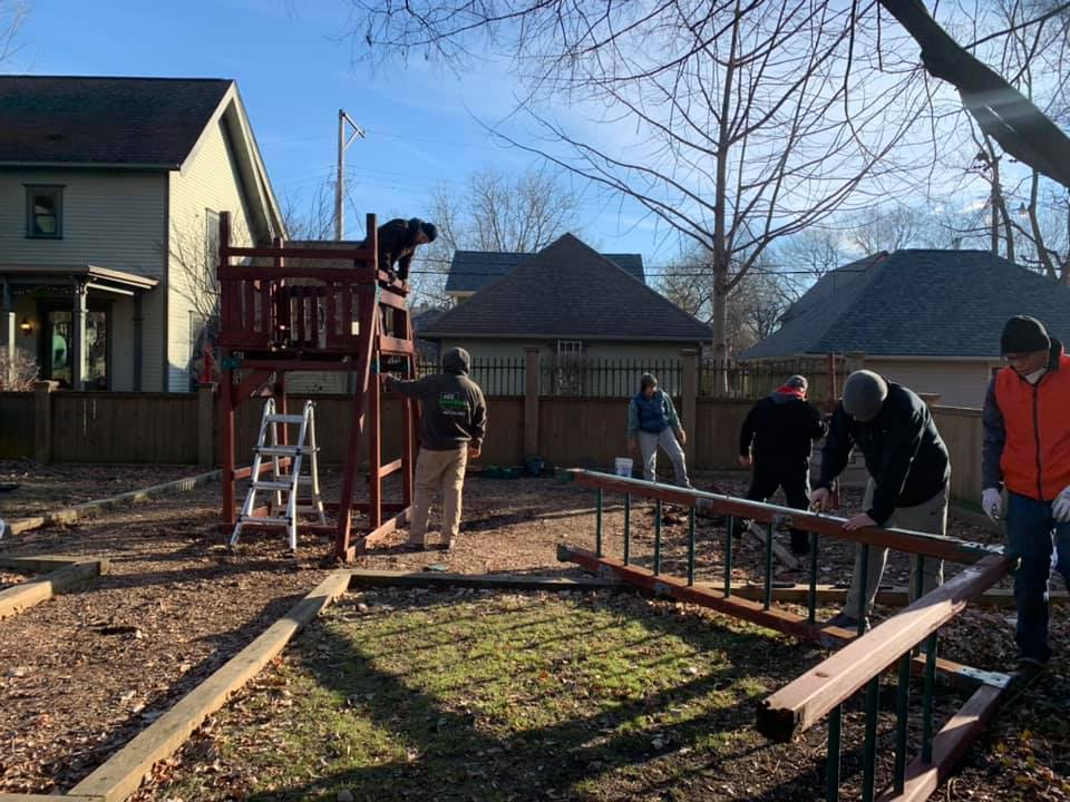playground construction